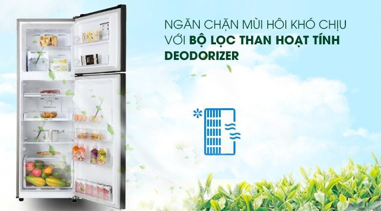 Tủ lạnh sẽ được kháng khuẩn, khử mùi hiệu quả với Deodorizing Filter