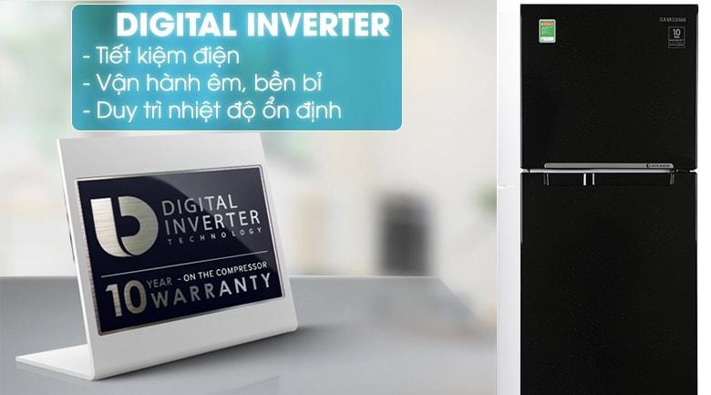 Công nghệ Digital Inverter giúp sử dụng tủ ổn định và vận hành êm ái