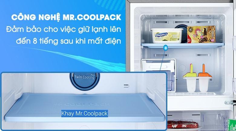 Tấm giữ nhiệt Coolpack giữ lạnh rất tốt cho những ngày mất điện
