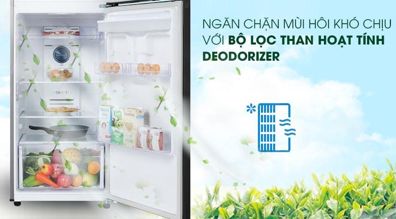 Tủ lạnh Samsung RT32K5932BU/SV trang bị bộ lọc than hoạt tính