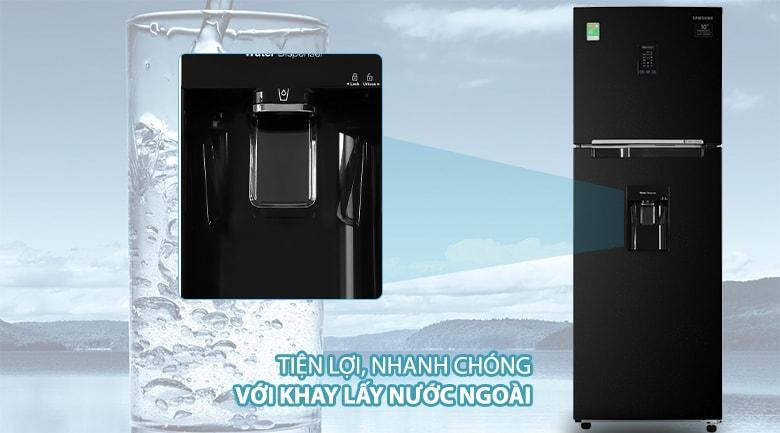 Tủ lạnh Samsung RT32K5932BU/SV có tính năng lấy nước ngoài tiện lợi