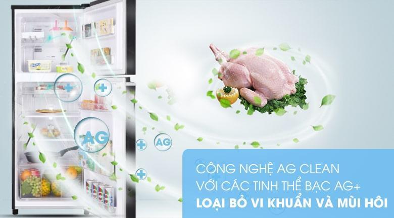 Tủ lạnh Panasonic NR-BA229PKVN kháng khuẩn, loại bỏ mùi hôi với công nghệ Ag Clean