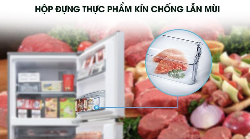 Tủ lạnh Panasonic Inverter 234 lít NR-BL263PKVN hạn chế lẫn mùi thực phẩm khác nhờ hộp chứa riêng