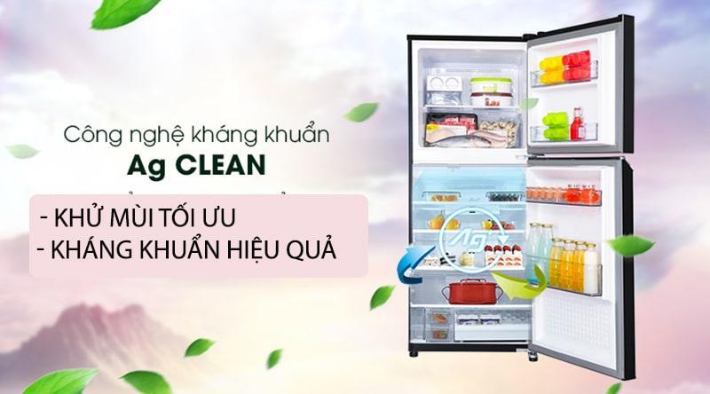 Tủ lạnh Panasonic Inverter 234 lít NR-BL263PKVN loại bỏ mùi hôi, kháng khuẩn nhờ công nghệ Ag Clean