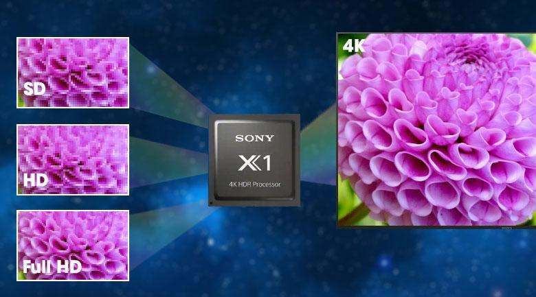 Chip xử lý hình ảnh 4K HDR Processor X1