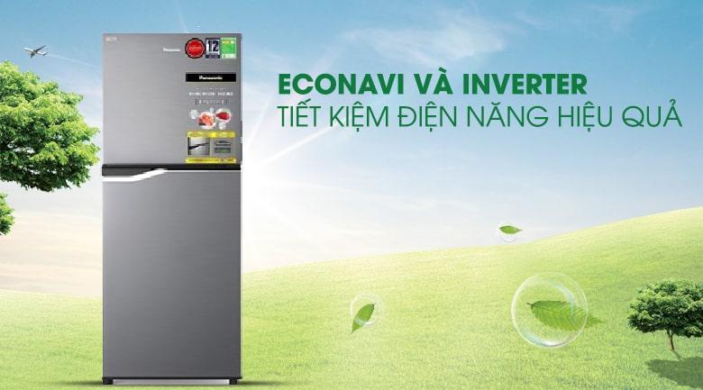 Tiết kiệm điện năng tiêu thụ với sự kết hợp của công nghệ Econavi và Inverter