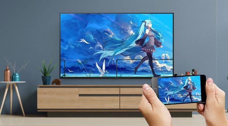 Có ứng dụng Chromecast giúp bạn chia sẽ màn hình điện thoại lên tivi