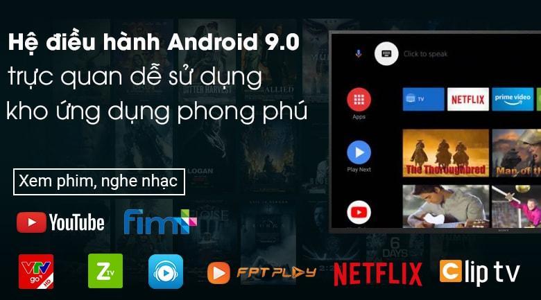 Sử dụng hệ điều hành Android 9.0 mới nhất rất dễ sử dụng