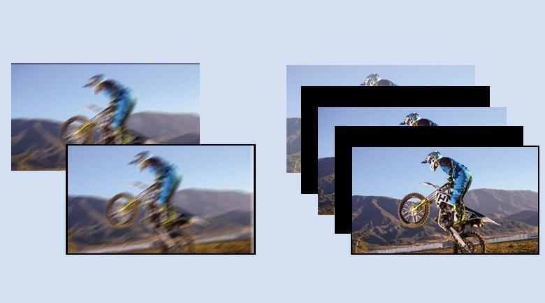 Công nghệ Motionflow™ XR 200 Hz cho những hình ảnh động mượt mà và rõ nét