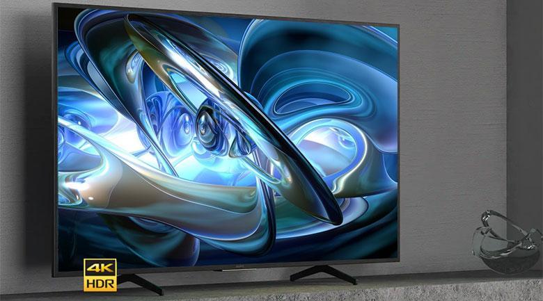 Tivi Sony 55X7500H có thiết kế đơn giản, nhưng rất hiện đại, sang trọng
