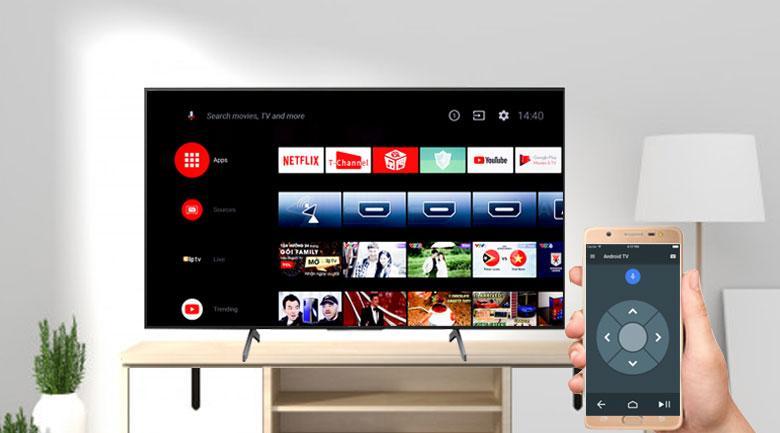 Ứng dụng Android TV giúp điện thoại Android có thể thay thế được Remote