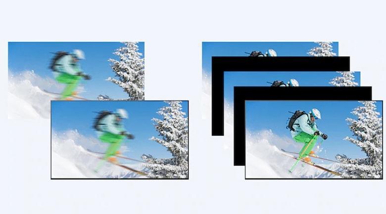 Công nghệ Motionflow XR 200Hz cho hình ảnh động mượt mà hơn cả