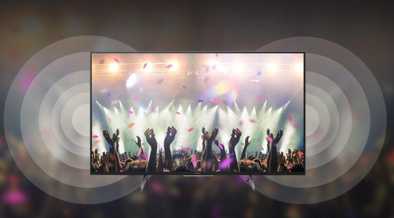Tivi Sony 75X8000H sở hữu công nghệ Dolby Atmos cho âm thanh đa chiều mạnh mẽ