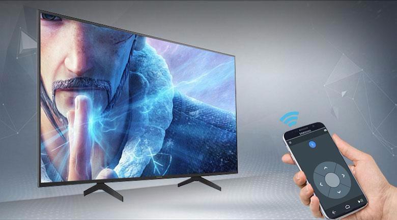 Tivi Sony 65X7500H trang bịứng dụngAndroid TV