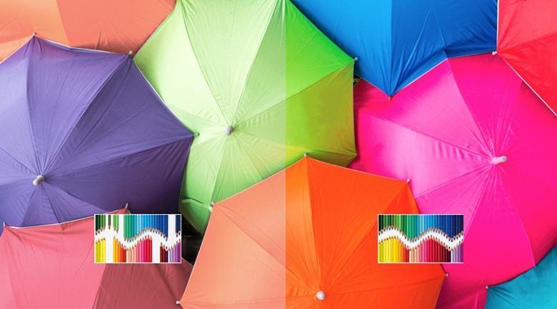 Màn hình chấm lượng tử TRILUMINOS Display cho dải màu sắc chân thực và rộng hơn