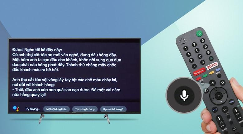 Trợ lý ảo Google Assistant giúp điều khiển tivi bằng tiếng Việt chính xác, thông minh hơn