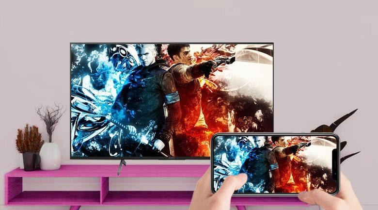 Mang đến khả năng chiếu màn hình điện thoại iOS lên tivi dễ dàng