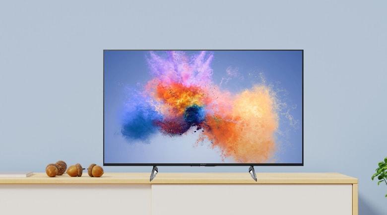 Tivi Sony 43X8000H mang dáng thanh mảnh hòa hợp với mọi không gian