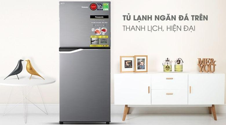 Tủ lạnh Panasonic NR-BA189PPVN Thiết kế thanh lịch và hiện đại