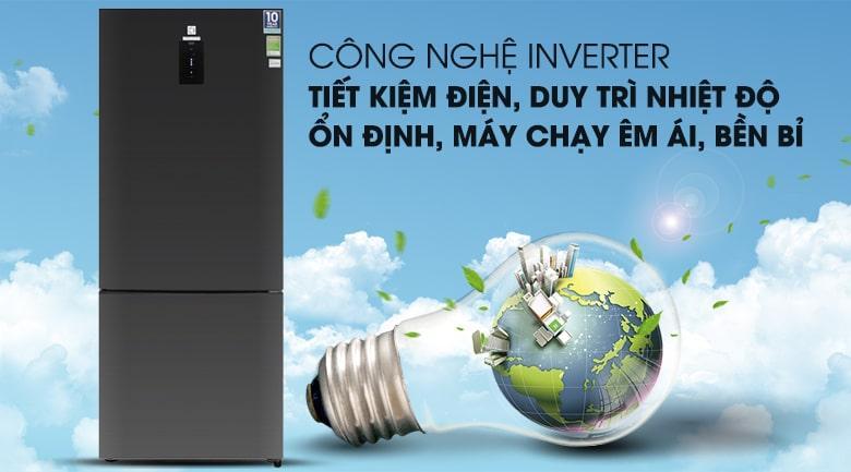 Tiết kiệm chi phí điện đáng kể cho cả gia đình với công nghệ NutriFresh Inverter hiện đại