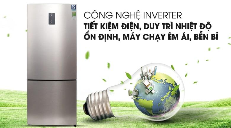 Tủ lạnh Electrolux EBE4502GA công nghệ Inverter tiết kiệm điện tối đa