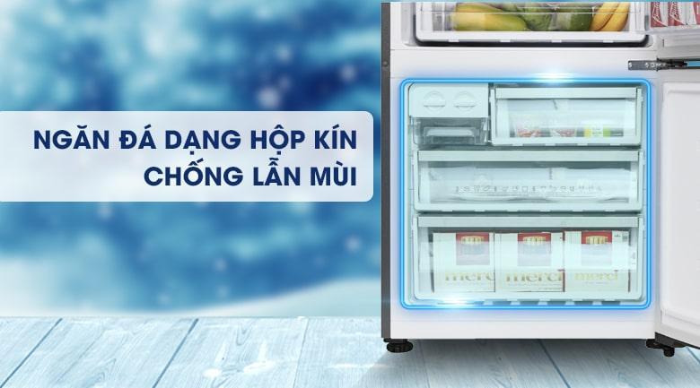 Tủ lạnh Electrolux EBE4502GA thiết kế ngăn đá dạng hộp kín, không còn lo lắng thực phẩm bị lẫn mùi