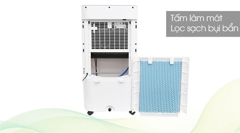 Quạt điều hòa Kangaroo KG50F07 sử dụng màng lọc bảo vệ máy