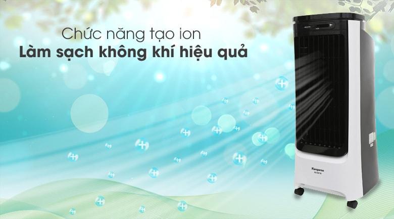Quạt điều hòatrang bị thêm chức năng tạo ion lọc không khí, cho không gian sống sạch thoáng trong lành hơn, tốt hơn cho sức khỏe