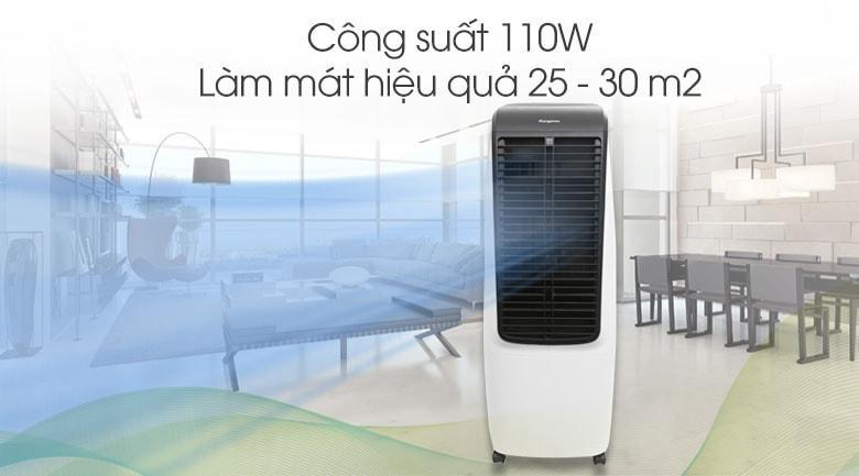Quạt điều hòa Kangaroo KG50F20 có công suất 110 W, làm mát không khí trong các không gian rộng