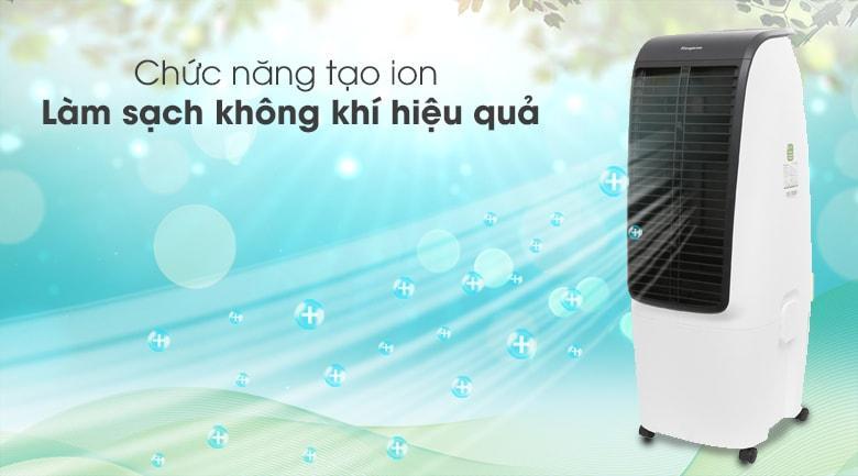 Chế độ ion lọc sạch không khí tốt đáp ứng nhu cầu làm mát và không khí trong lành hơn