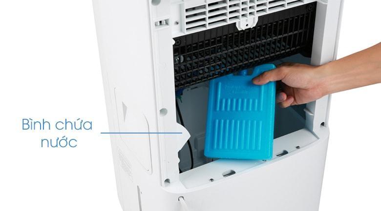 Quạt điều hoà Gree KSWK-10X61D tự ngắt khi bơm cạn nước giúp quạt bền bỉ hơn