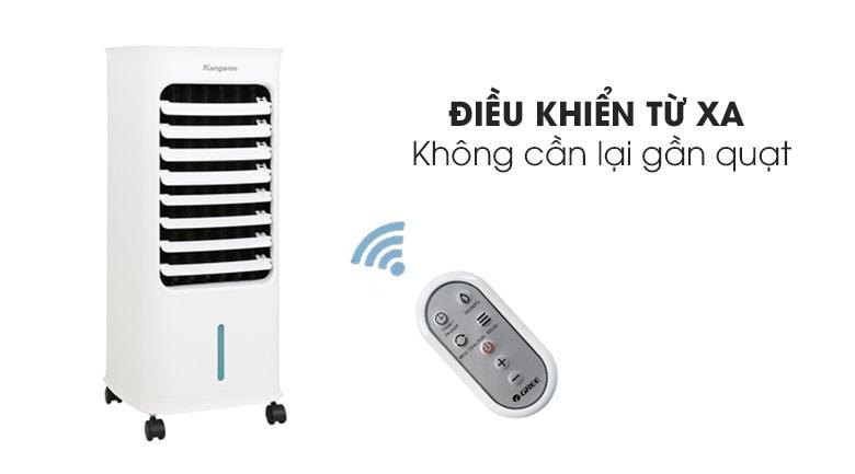 Remote điều khiển từ xa cho phép người sử dụng dễ dàng mà không cần di chuyển lại gần