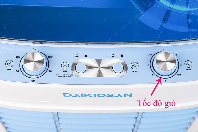 Quạt điều hoà Daikiosan DKA-03500C có 3 chế độ gió đa dạng đáp ứng nhu cầu khác nhau của người dùng