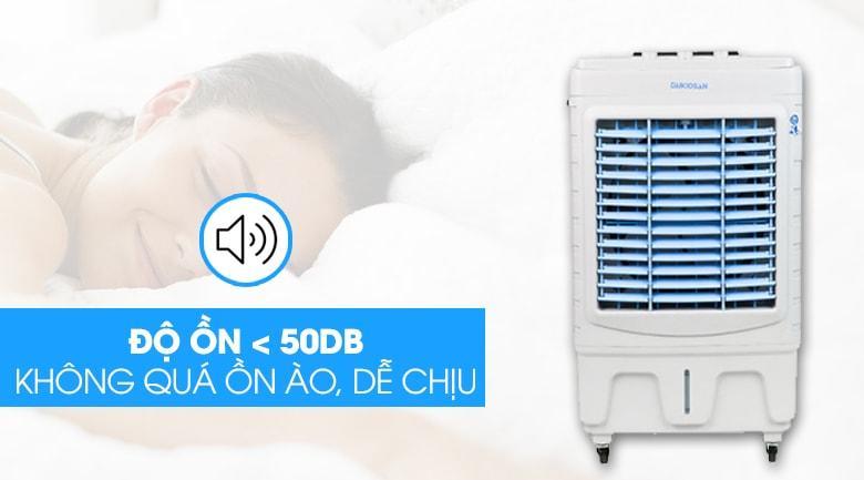 Độ ồn quạt điều hoà Daikiosan DKA-04500A dưới 50 dB vận hành êm ái