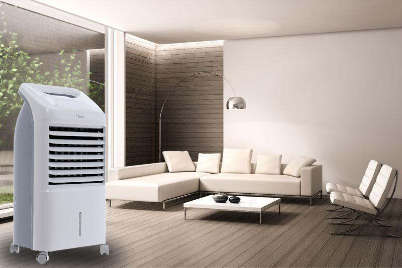 Quạt điều hòa có công suất 50 W làm mát tốt cho không gian có diện tích 10 - 15 m2
