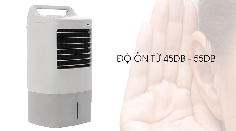 Độ ồn từ 45dB - 55dB tương đương tiếng thì thầm, không gây tiếng ồn