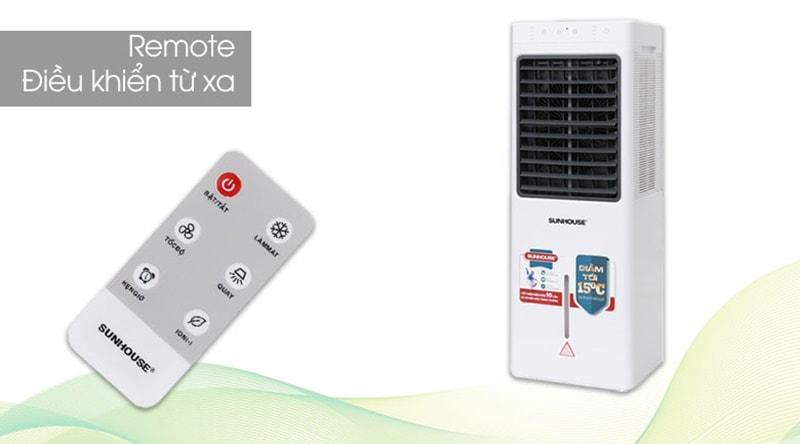 Tặng kèm Remote điều khiển từ xa nhỏ gọn trong bán kính 6m, tiện lợi và hữu ích