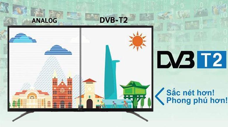 Tích hợp sẵn truyền hình kỹ thuật số DVB-T2