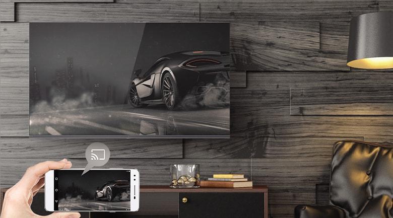Ứng dụng Chromecast cho phép bạn chiếu toàn bộ màn hình ĐT lên TV rất đơn giản