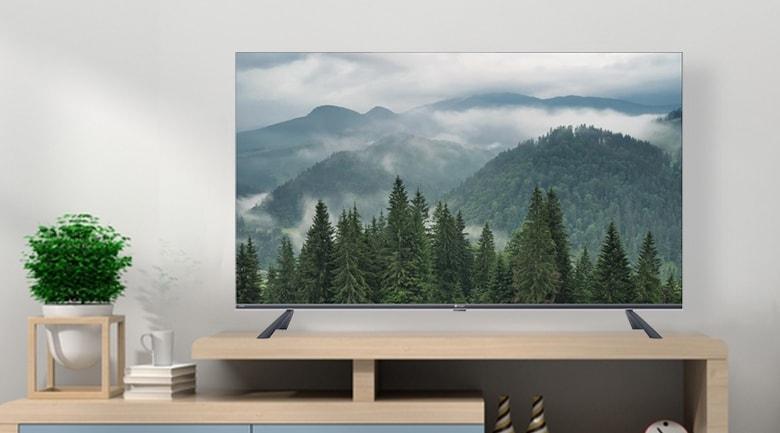 Tivi Casper 65UG6100 mang đến không gian nhà bạn sự sang trọng