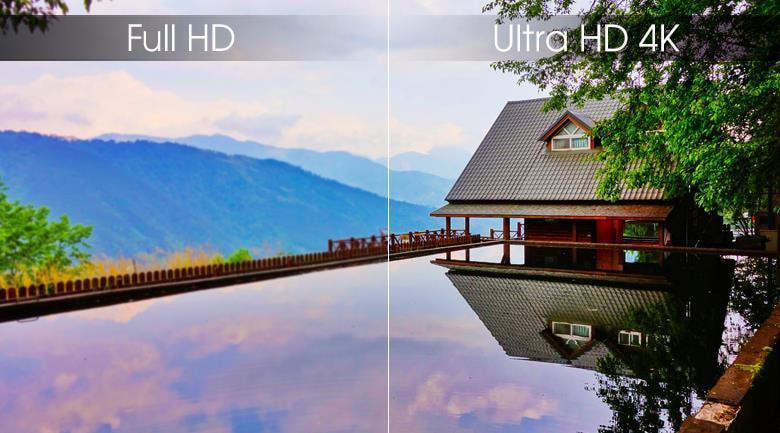 Sở hữu màn hìnhUltra HD 4K siêu sắc nét