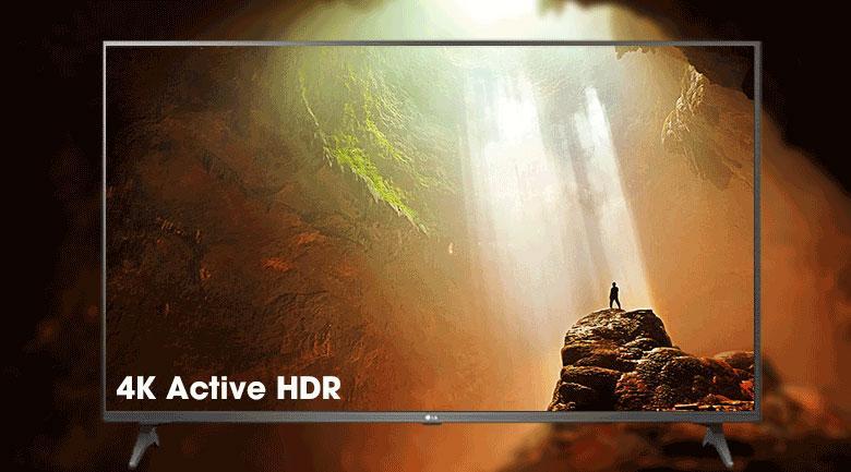 Tivi LG 49UN7290 PTF cócông nghệ 4K Active HDR cho độ tương phản vượt trội