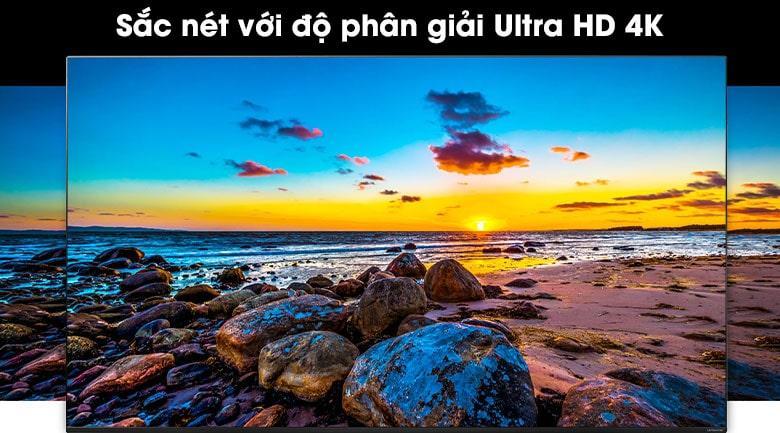Màn hình với độ phân giải Ultra HD 4K cho hình ảnh nét gấp 4 lần Full HD