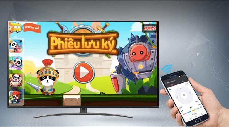 Có thể điều khiển TV dễ dàng từ chiếc Smart phone