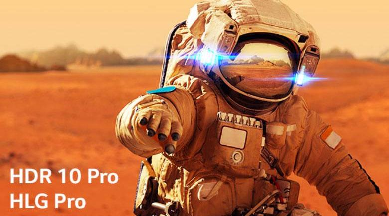 Công nghệ 4K Active HDR nâng cấp độ tương phản tối đa
