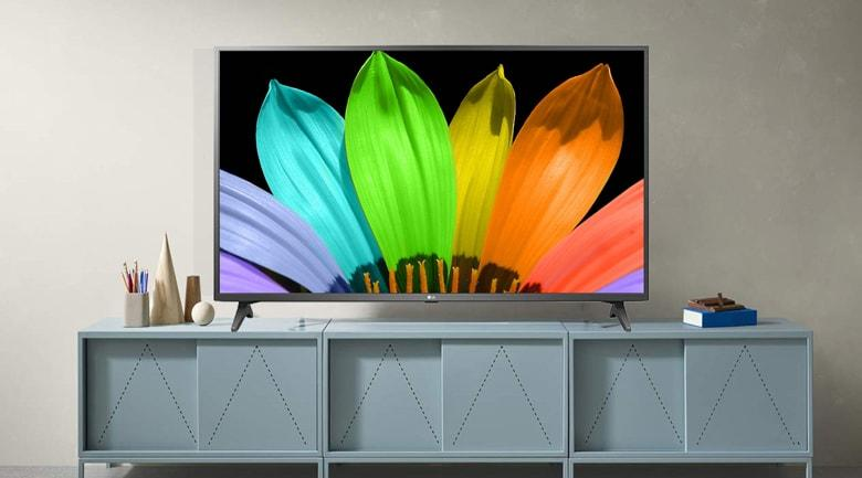 Tổng quan về thiết kế của Tivi LG 55UN7290 PTF