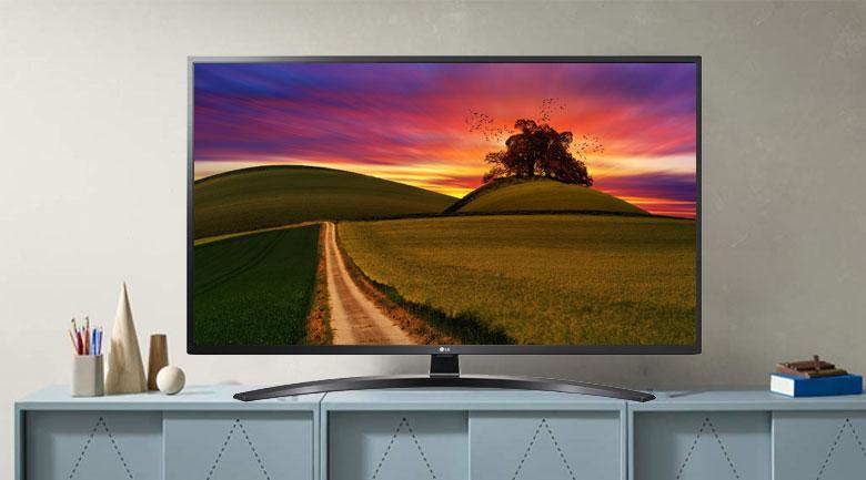 Tivi LG 55UN7400 PTA mang đến cho bạn lối thiết kế độc đáo