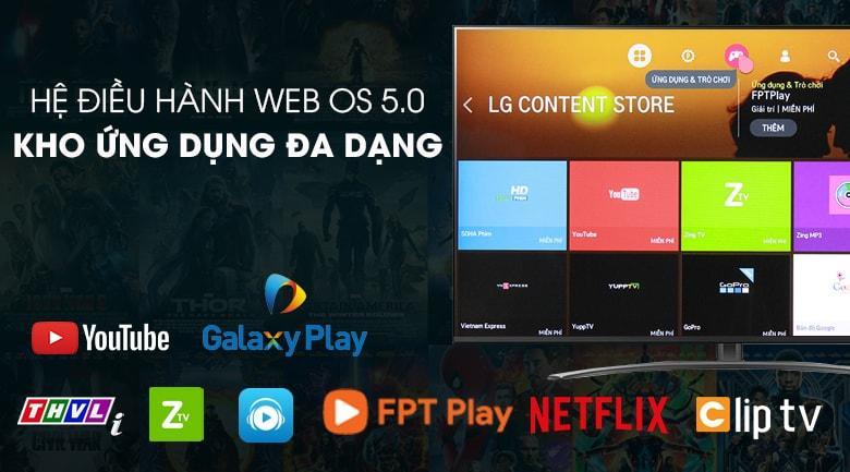Hệ điều hành của Tivi LG 65NANO81TNA