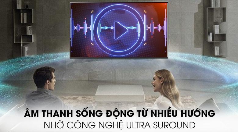 Âm thanh sống động, trong trẻo không lẫn tạp âm nhờ công nghệClear Voice IIIvàUltra Surround