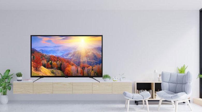 Tivi Casper 43FG5100 là mẫu TV hiện đại hợp với nhiều kiểu nội thất